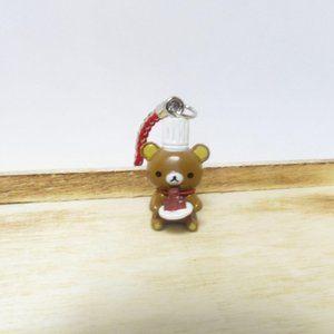 Chef rilakkuma charm, Rilakkuma phone strap, Cute